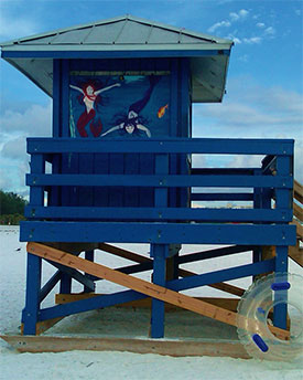 Siesta Keys Life Guard Stand